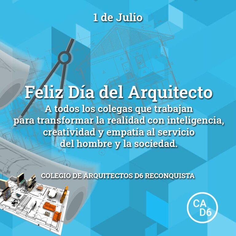 Feliz día del arquitecto!